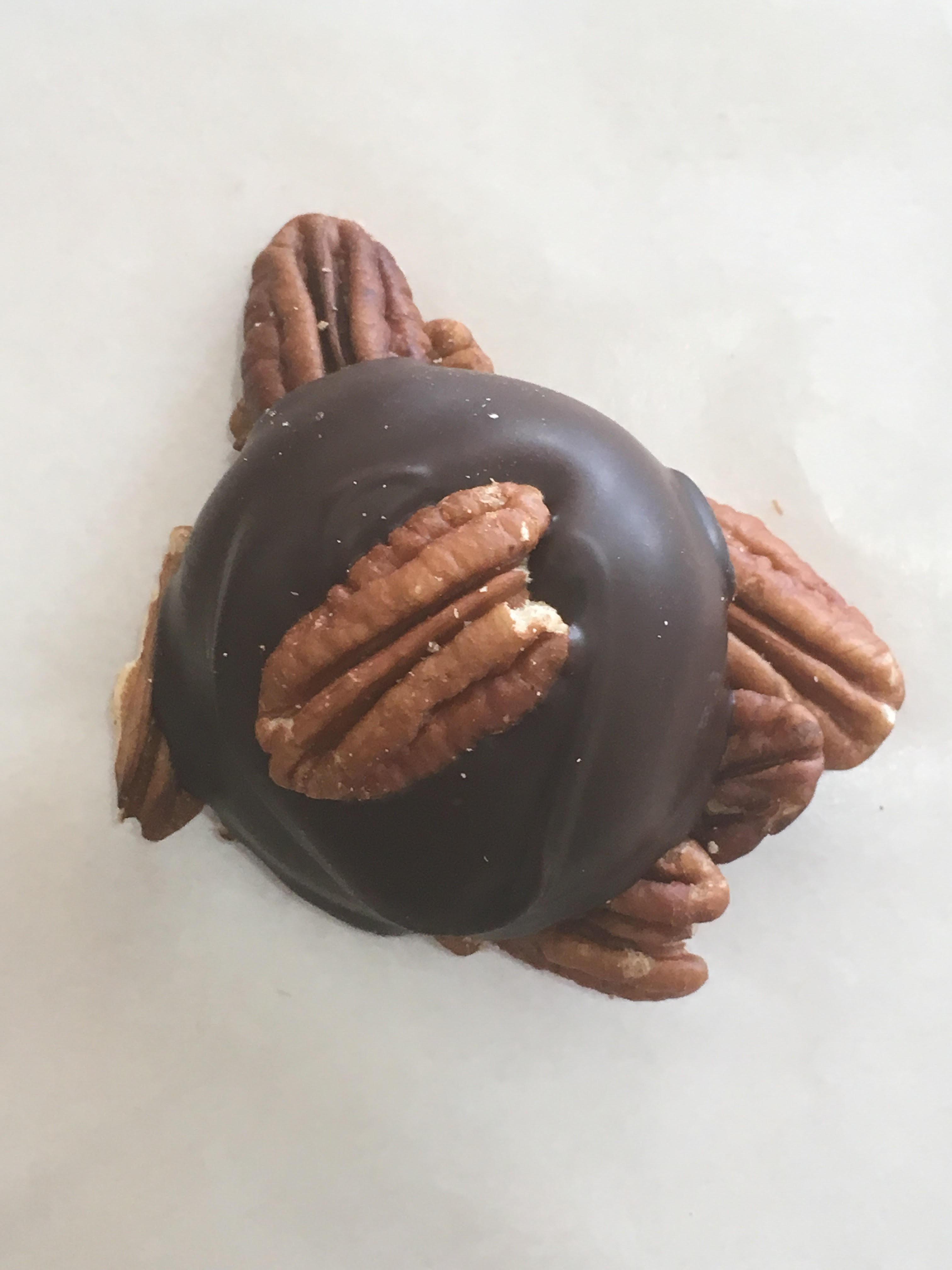 Dark Caramel Pecan Patty (1/2 lb)