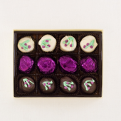 Wild Huckleberry Cream 12pc Chocolate Box