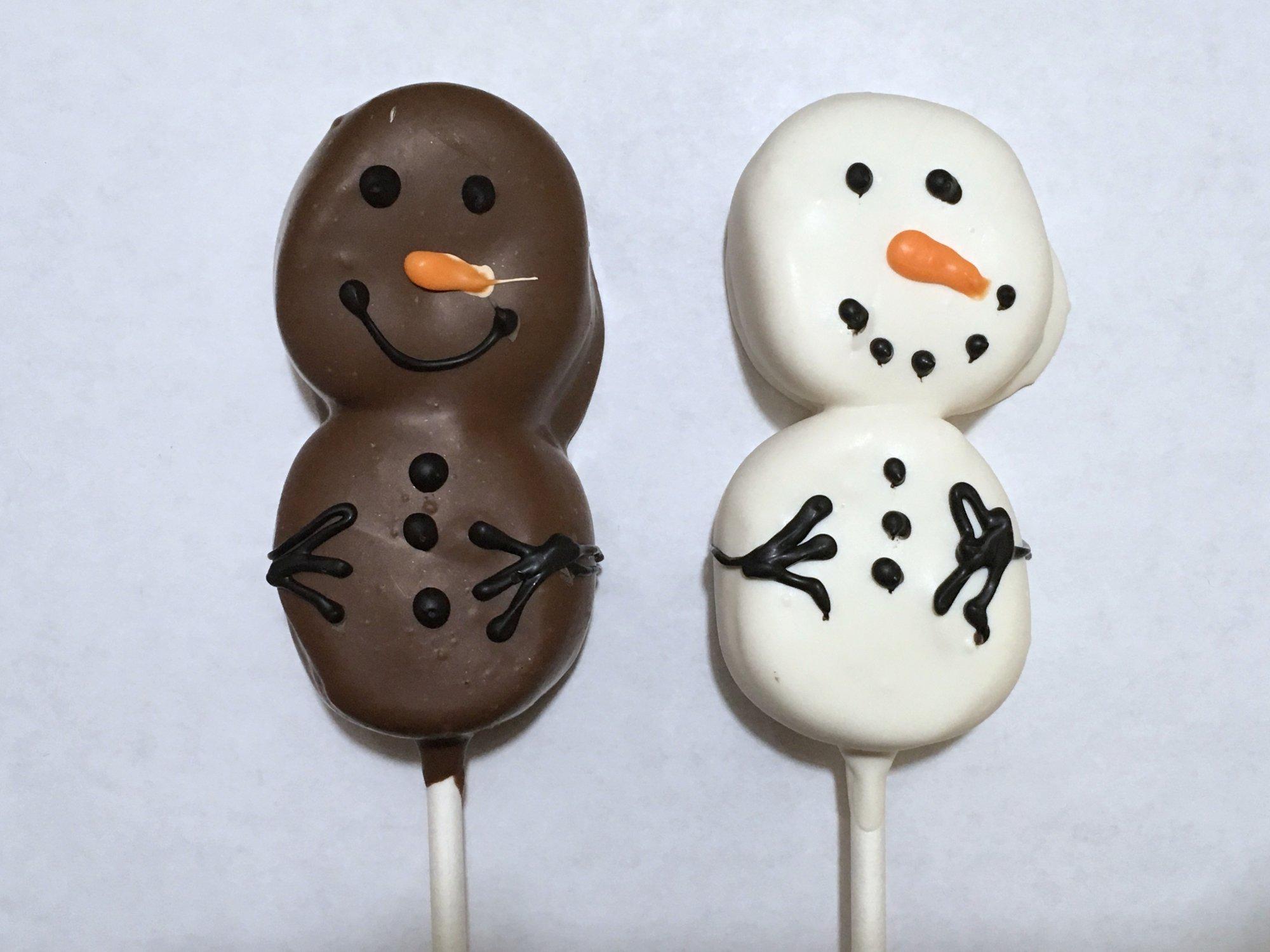 Marshmallow Snowman