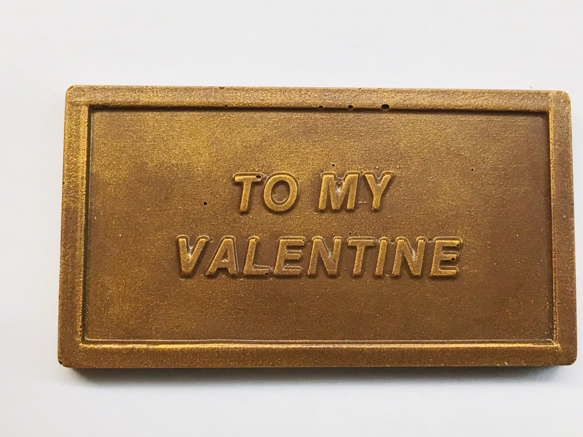 To My Valentine Chocolate Bar