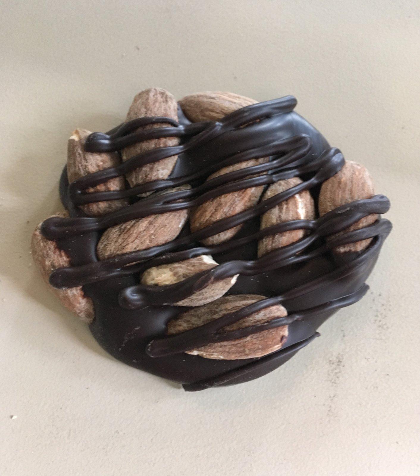 Dark Almond Patty (1/2 lb)