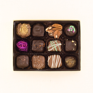 Custom 12pc Chocolate Box