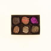 Custom 6 Piece Chocolate Box