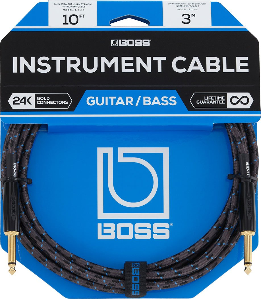 Boss Instrument Cable - 10ft