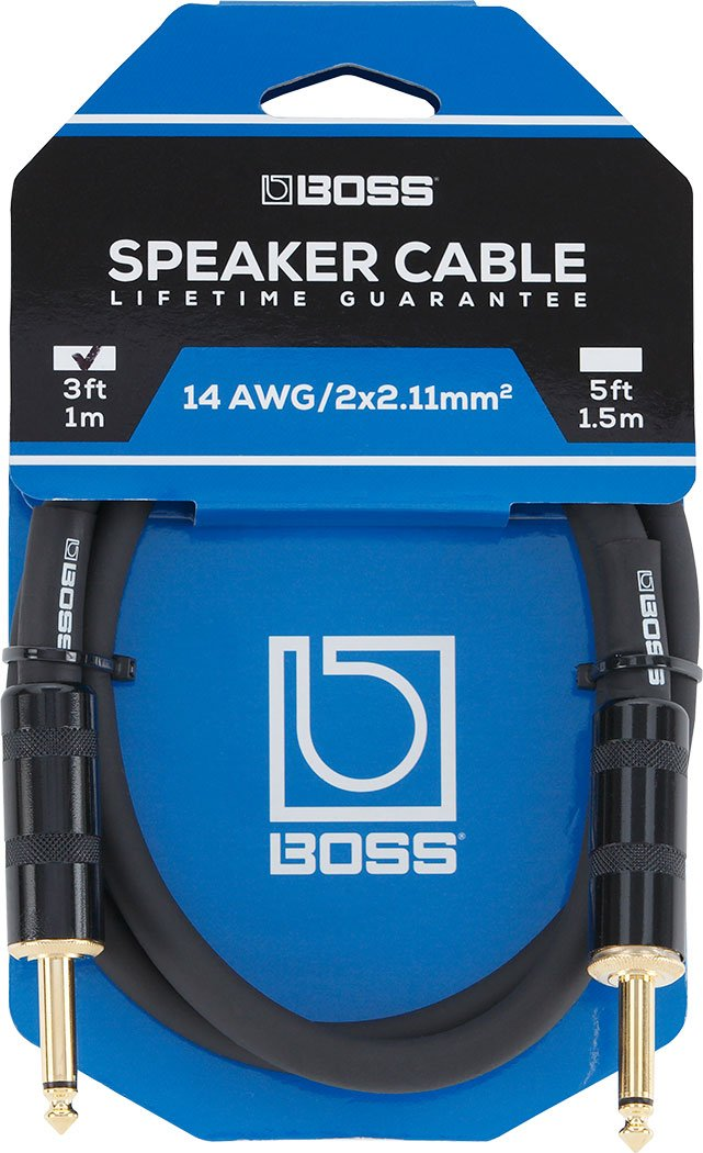 Boss Speaker Cable - 3ft