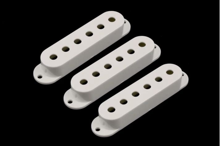 Pickup Covers for Stratocaster Set of 3 Parchment