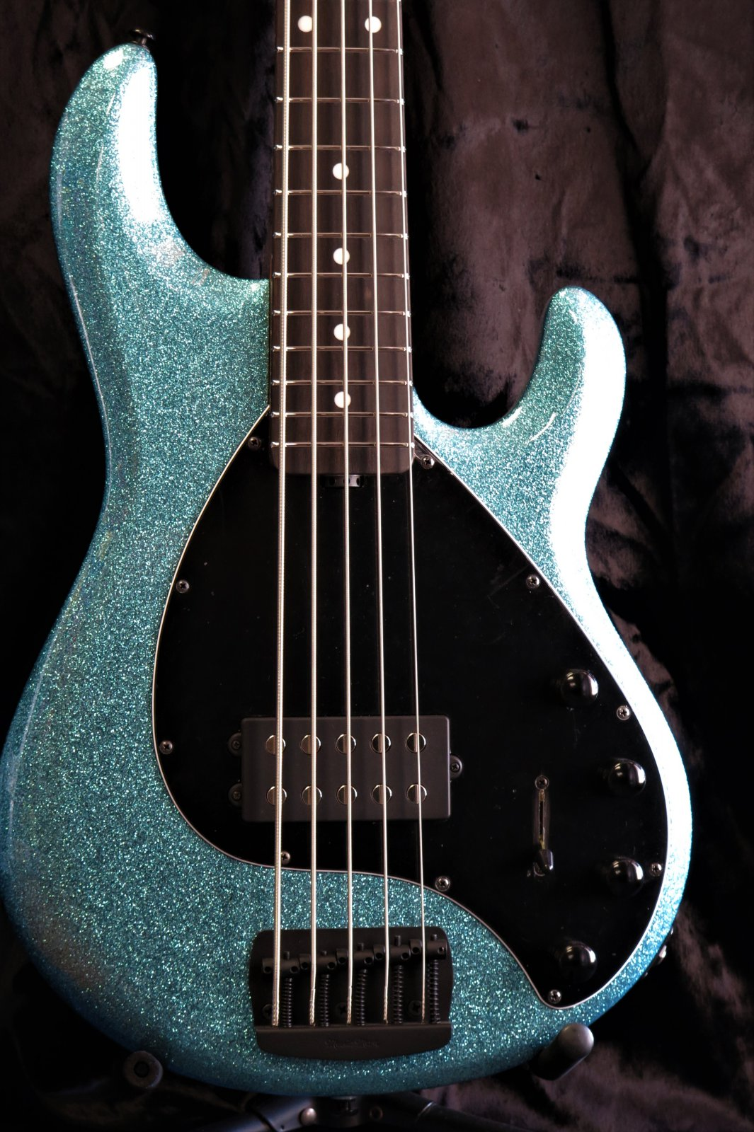 Ernie Ball Music Man StingRay Special 5H - Aqua Sparkle