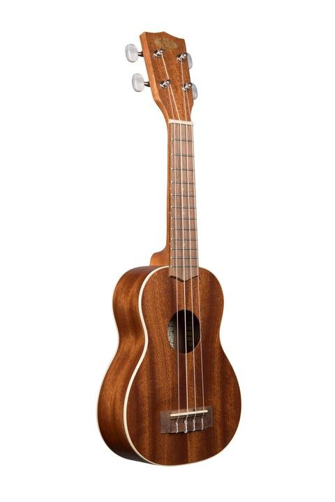 Kala Gloss Mahogany Long Neck Soprano