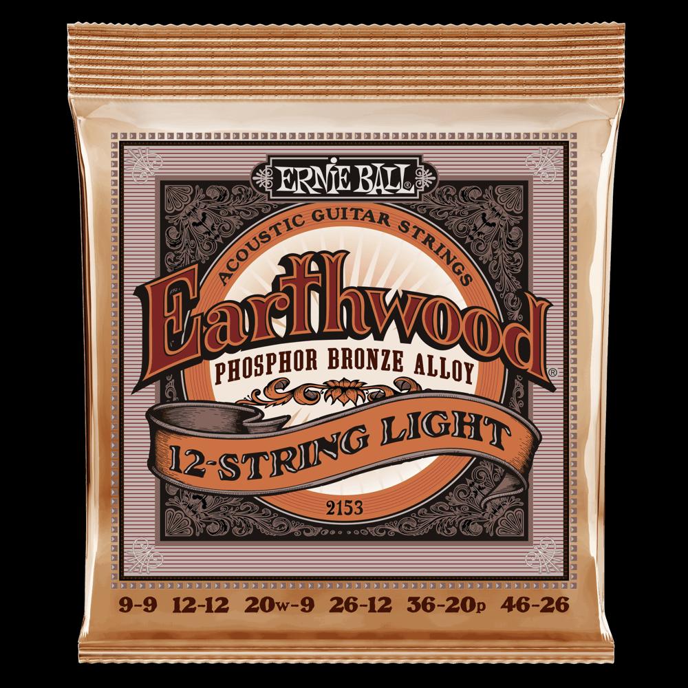 Ernie Ball Earthwood Phosphor 12 String 9-46