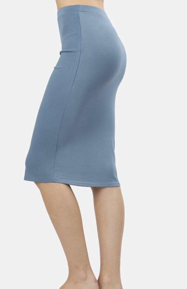 ffae2d8e175095 Titanium Ponte Pencil Skirt