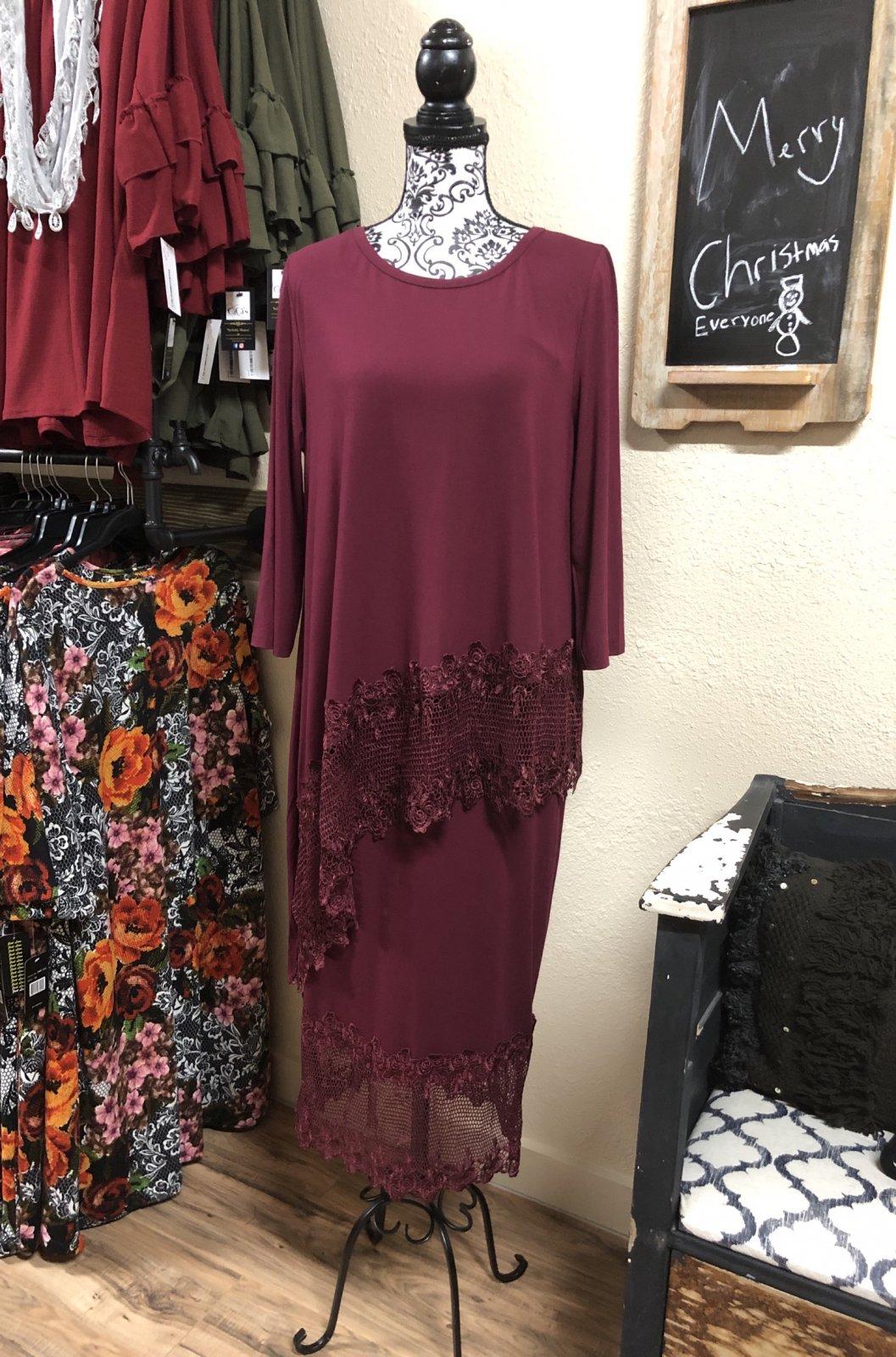 Lindy Skirt (Wine)