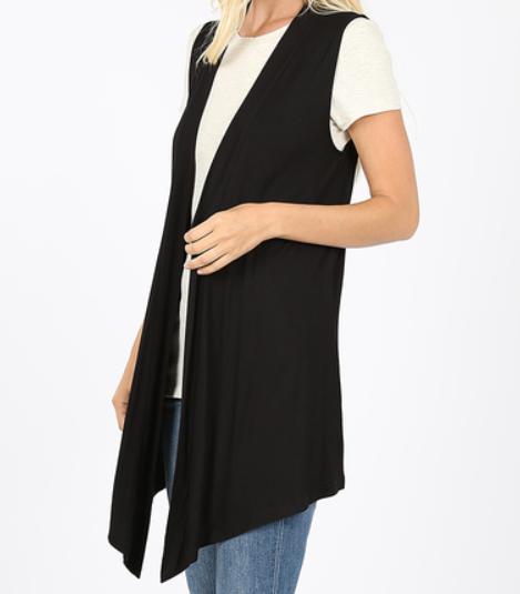 Black Sandra Vest