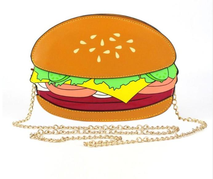 Hamburger Purse
