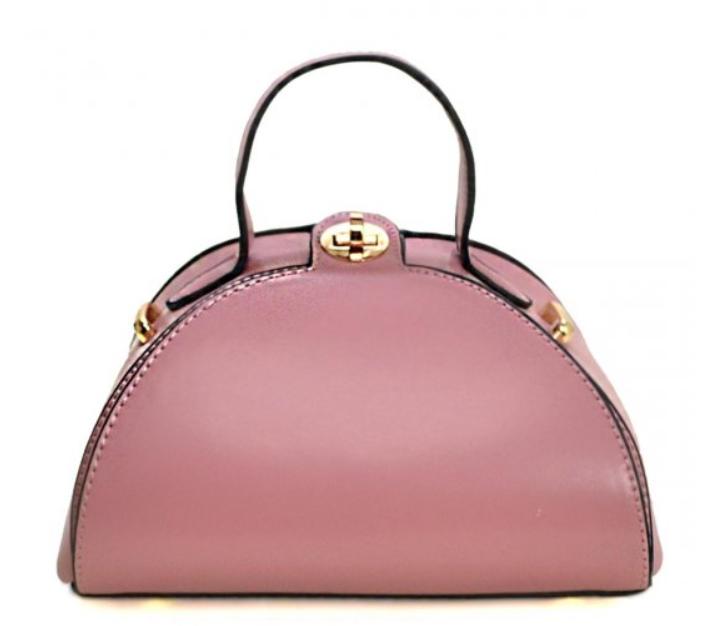 Dorm Satchel Handbag Mauve