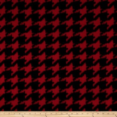 MM Houndstooth Red/black