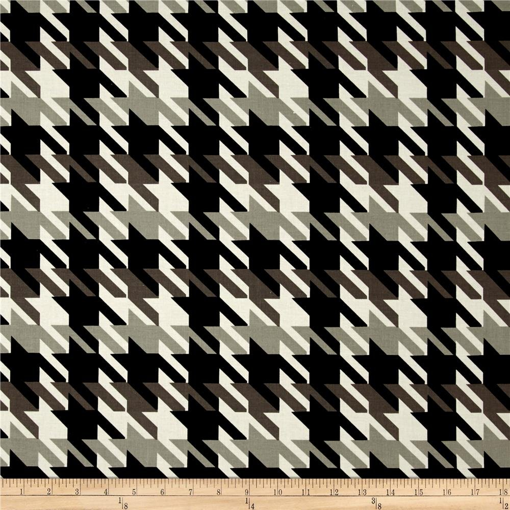 MM Large Houndstooth Onyx/white
