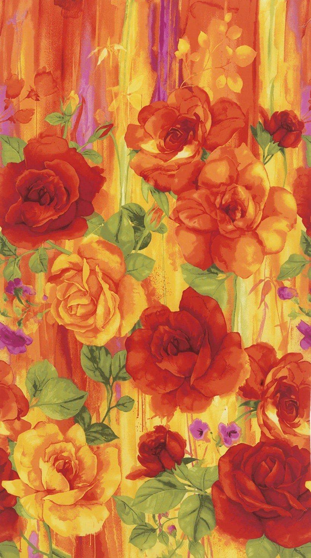 TT Rosa Big Print Panel