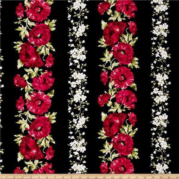 Audrey-Poppies  Stripe