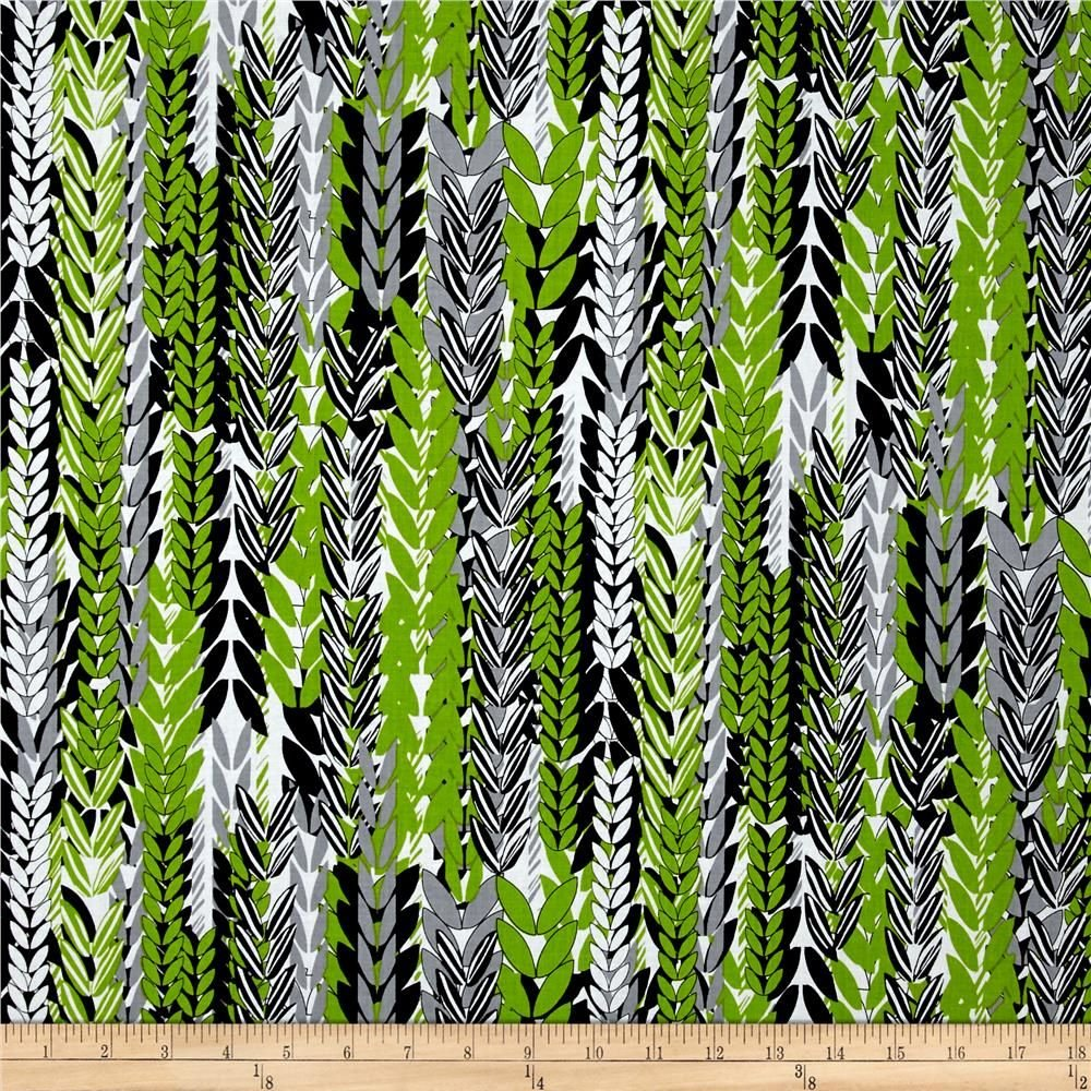 Kanvas Endless Summer Leaf stripe