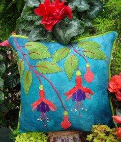 WL Fuchsia Fancy Pillow