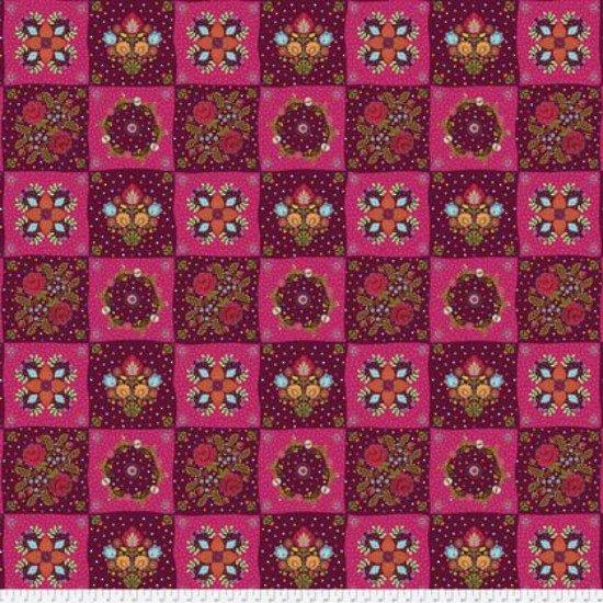 FS Chessboard Garnet /pink