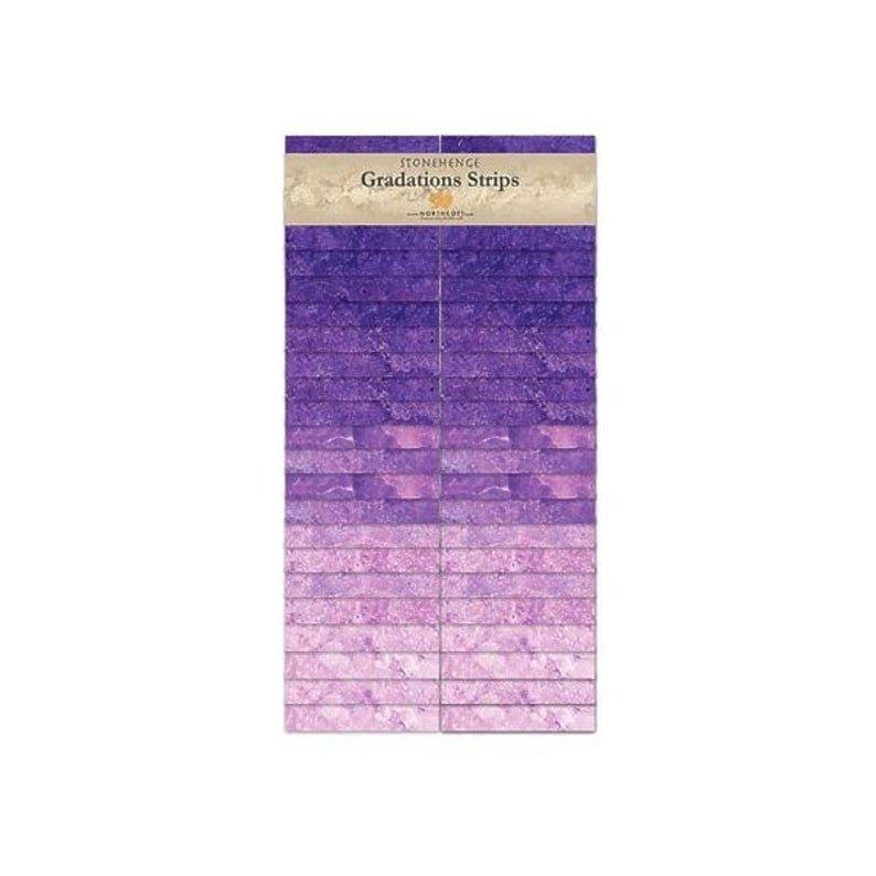 Stonehenge Gradations Strips Amethyst