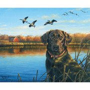 Fish and Fowl (Dog) P8725