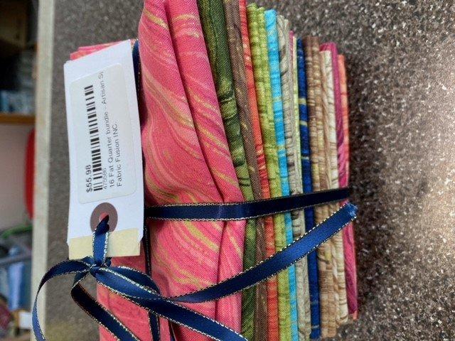 16 Fat Quarter bundle - Artisan Sprit