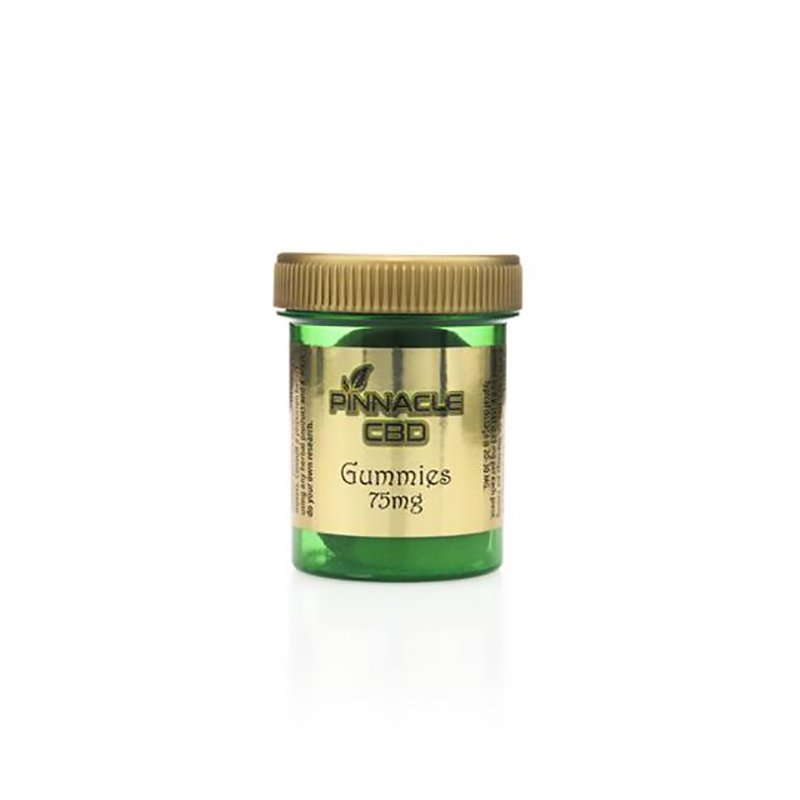 Pinnacle Vapor 75 mg Jar of CBD Gummies