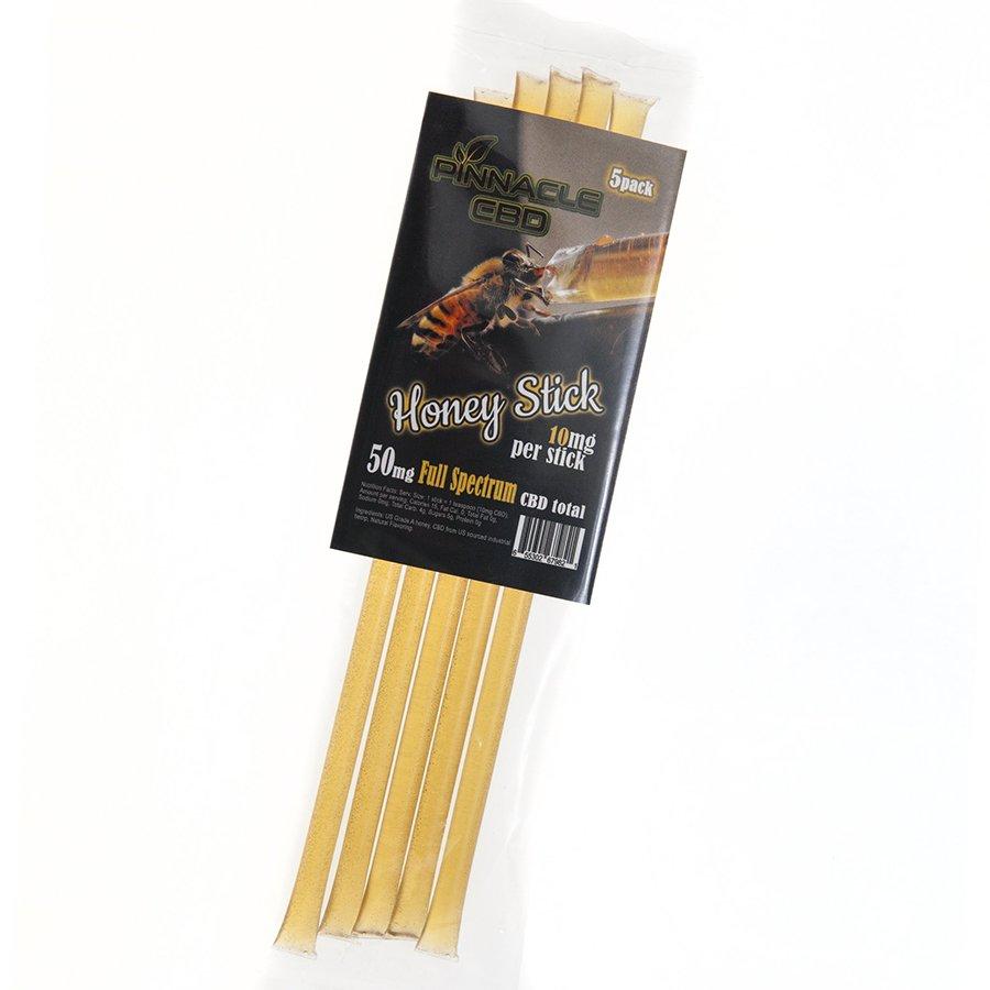 Pinnacle Vapor Pack of 5 Honey Infused 10 mg CBD Sticks