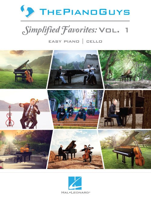 The Piano Guys – Simplified Favorites, Vol. 1 Easy Piano Arrangements with Optional Cello Parts
