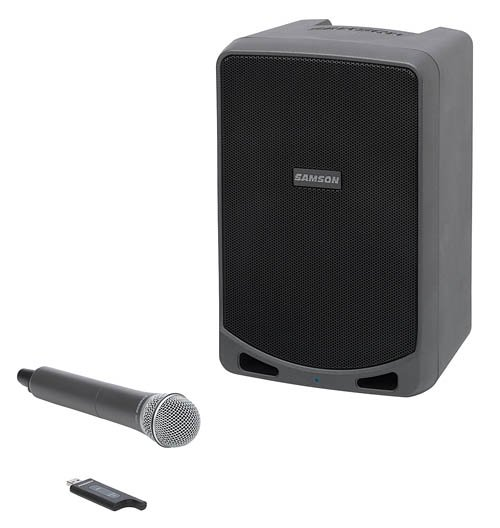 Samson Expedition XP106w Rechargeable Battery-Powered Wireless PA with Bluetooth