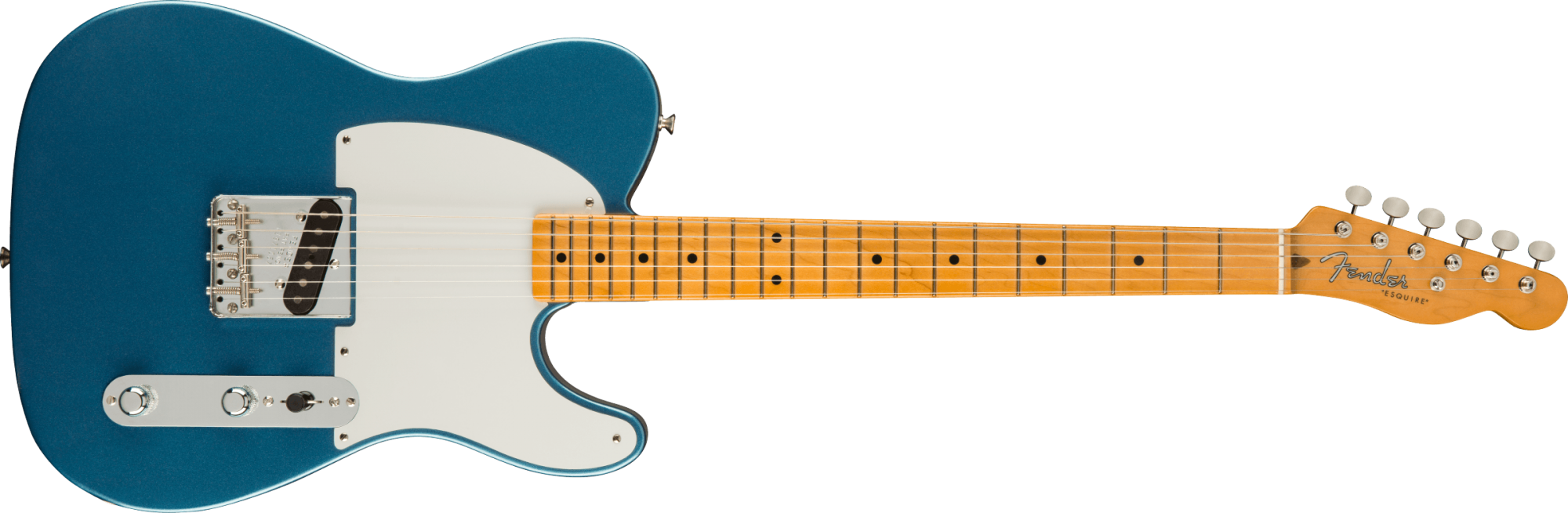 Fender 70th Anniversary Esquire, Maple Fingerboard, Lake Placid Blue
