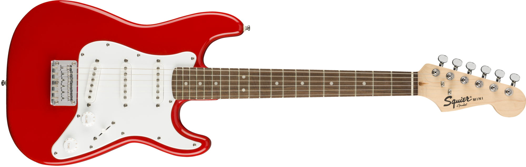 Squier Mini Strat, Laurel Fingerboard, Torino Red