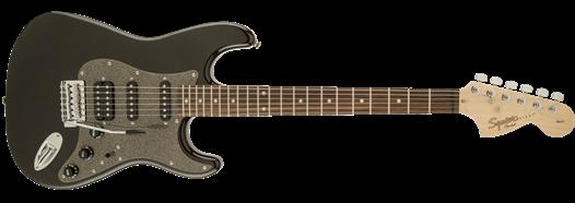 Squier Affinity Series Stratocaster HSS, Laurel Fingerboard, Montego Black Metallic