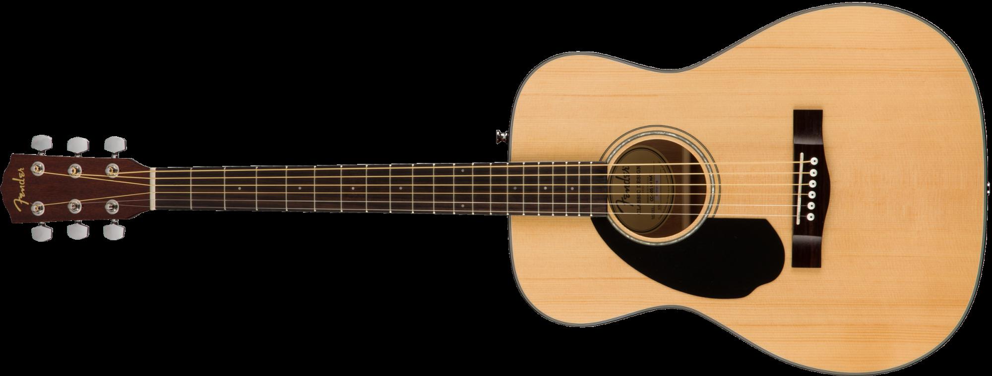 Fender CC-60S Concert LH, Walnut Fingerboard, Natural