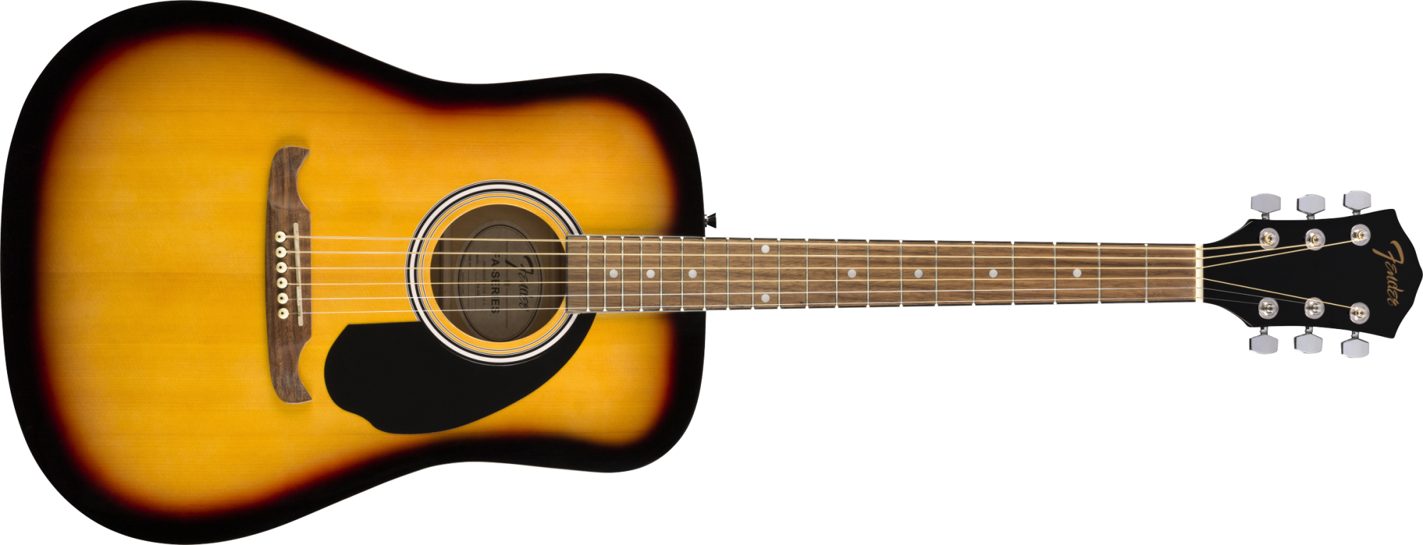 Fender FA-125 Dreadnought, Walnut Fingerboard, Sunburst w/Bag