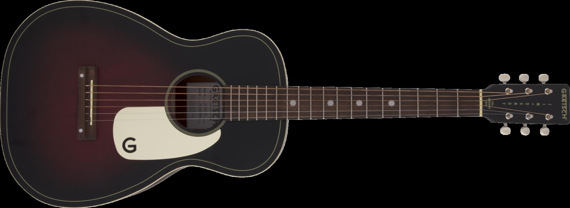 Gretsch G9500 Jim Dandy 24 Scale Flat Top Guitar, 2-Color Sunburst