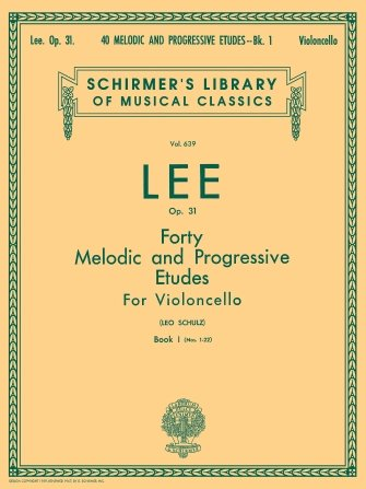 40 Melodic and Progressive Etudes, Op. 31 ? Book 1, Vol. 639