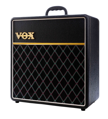 Vox AC4 1x12 4-watt Combo Amp - Vintage Black - Limited Run