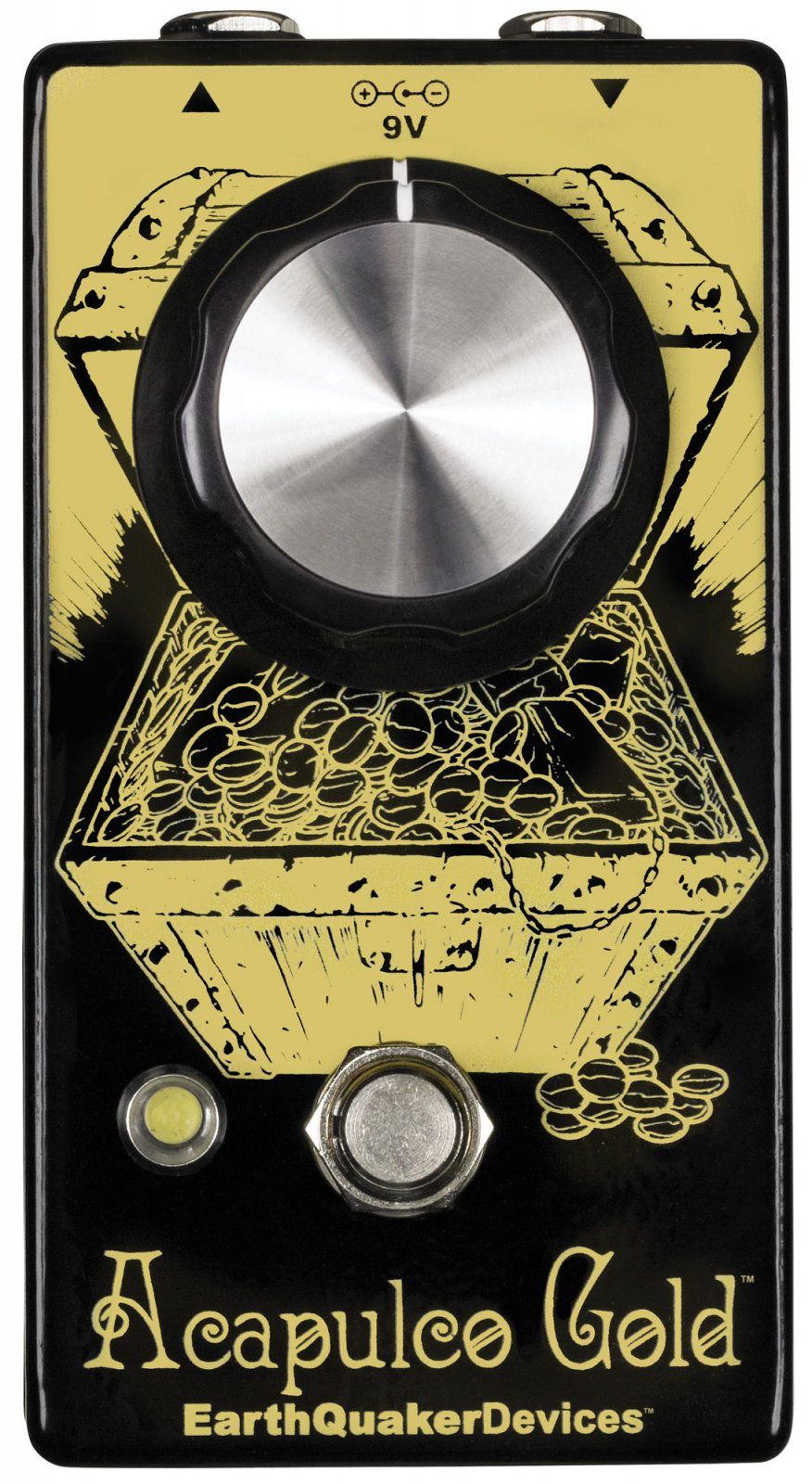 EarthQuaker Alcapulco Gold Power Amp Distortion