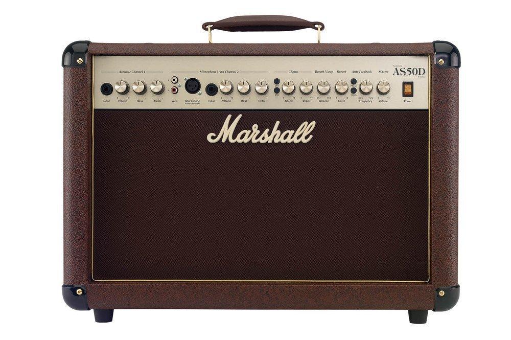 Marshall 50 Watt acoustic 2x8 combo w/ 2 channels Digital Chorus & Reverb