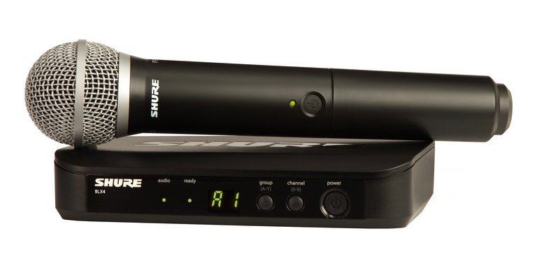 Shure BLX24/PG58-J10 Wireless Vocal System