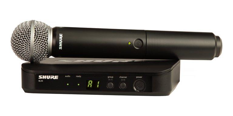 Shure BLX24/SM58-J10 Wireless Microphone System