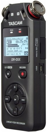 Tascam DR-05X Stereo Handheld Digital Audio Recorder & USB Audio Interface