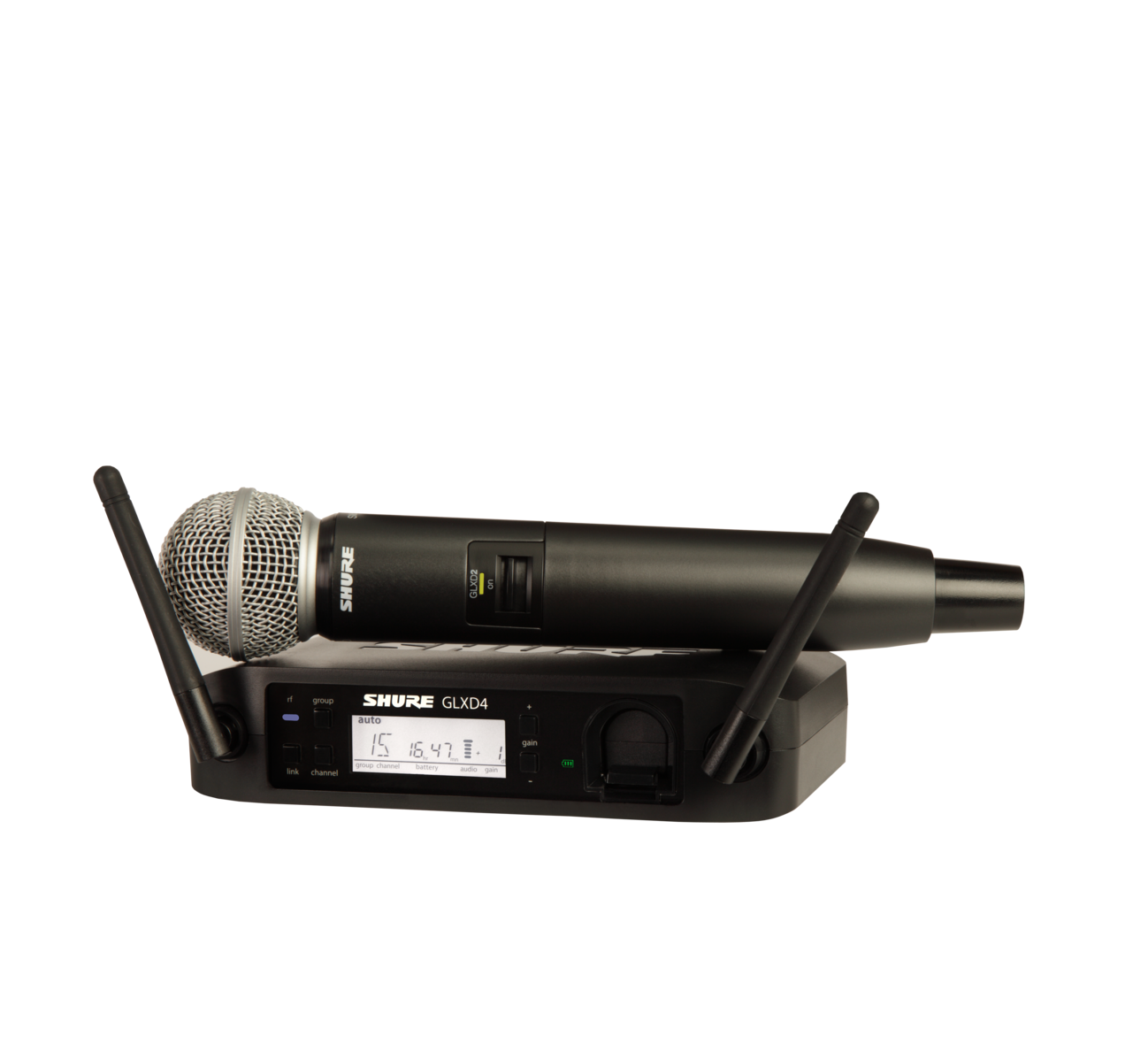 Shure GLXD24/SM58 Digital Wireless Vocal System with SM58 Vocal Microphone