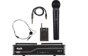 CAD Audio Dual Channel Wireless System Handheld-Bodypack(Headset)