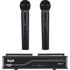 CAD Audio Dual Channel Wireless System Handheld-Handheld