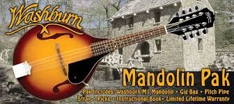 Washburn Mandolin Pack- M1K-A