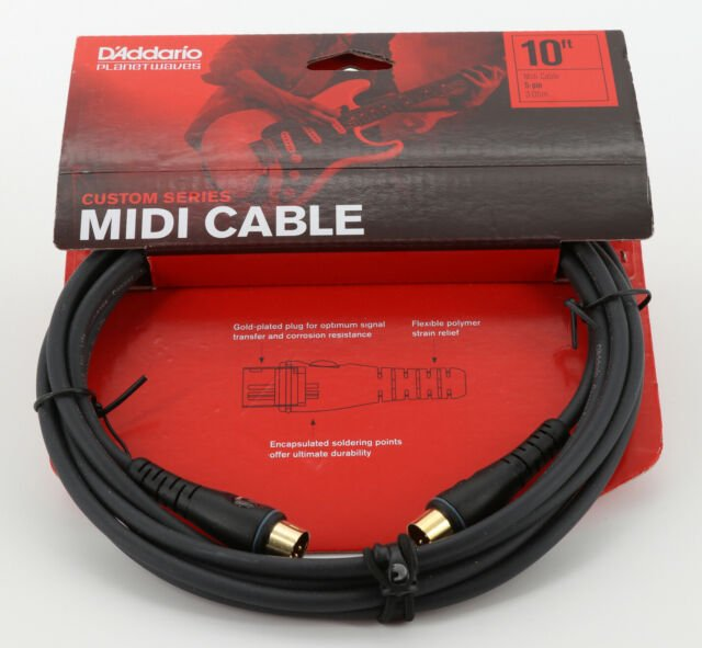 Planet Waves Midi Cable, 10 Feet